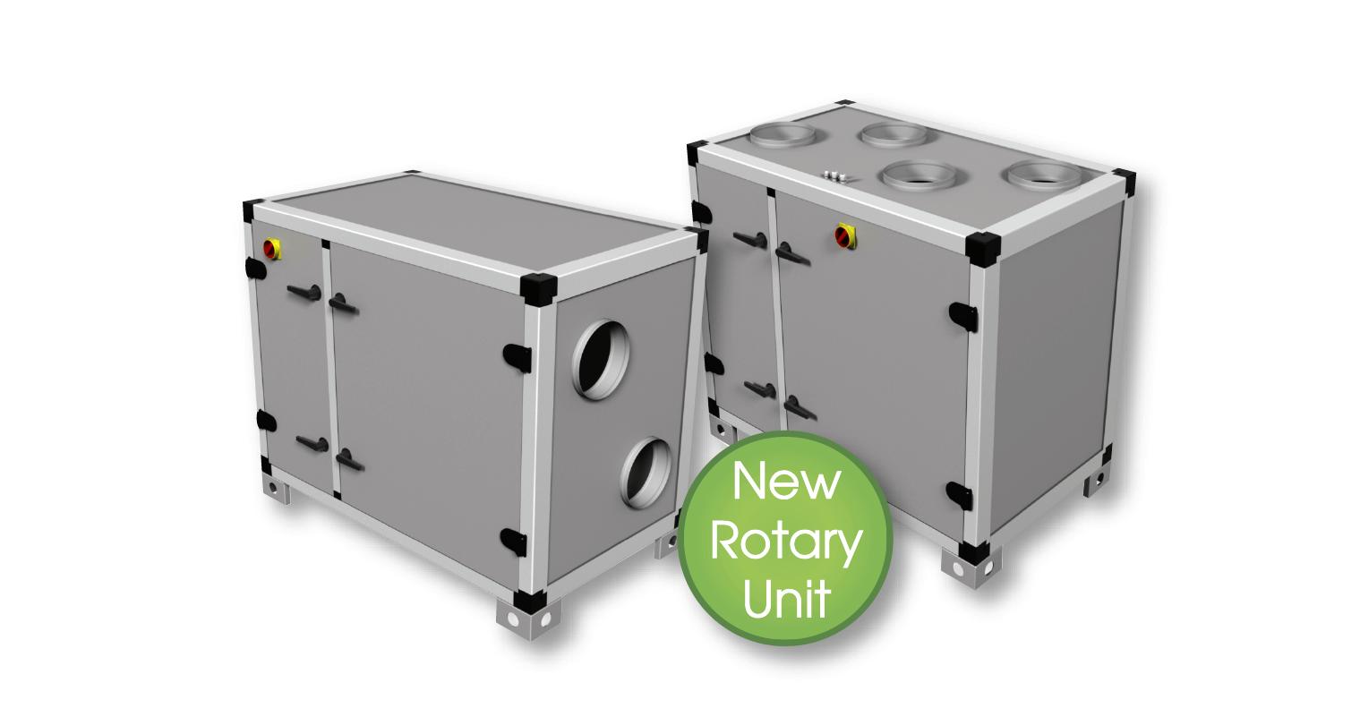 Nuova unità rotativa UVR & UVR-TOP